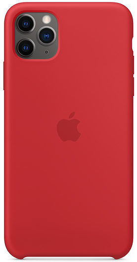 Чехол iPhone 11 Pro Max Silicone Case - (PRODUCT)RED