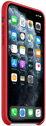 Чехол iPhone 11 Pro Silicone Case - (PRODUCT)RED