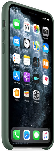 Чехол iPhone 11 Pro Silicone Case - Pine Green