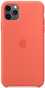 Чехол iPhone 11 Pro Silicone Case - Clementine (Orange)