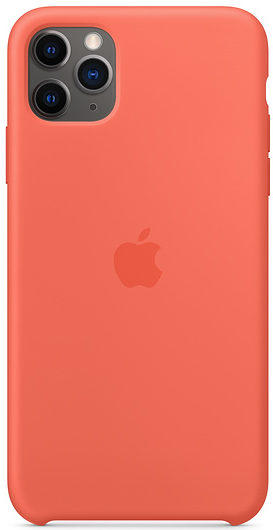 Чехол iPhone 11 Pro Max Silicone Case - Clementine (Orange)