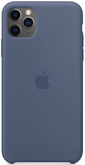 Чехол iPhone 11 Pro Silicone Case - Alaskan Blue (копия)