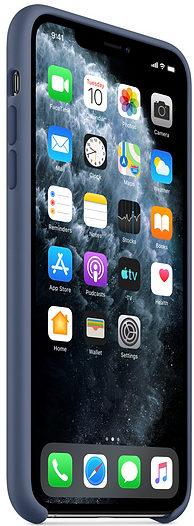 Чехол iPhone 11 Pro Silicone Case - Alaskan Blue