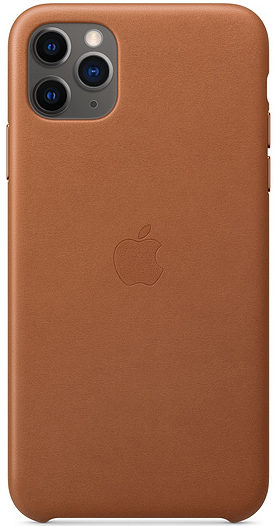 Чехол iPhone 11 Pro Leather Case - Saddle Brown