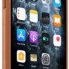 Чехол iPhone 11 Pro Max Leather Case - Saddle Brown 10482