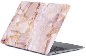 Накладка-чехол для MacBook Air 13″ (2016-2017) Picture marble pink