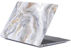 Накладка-чехол для MacBook Air 13″ (2016-2017) Picture marble gray