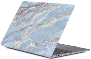Накладка-чехол для MacBook Air 13″ (2016-2017) Picture marble blue