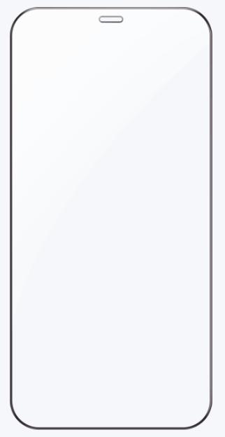 Стекло защитное Rock (0.25mm) iPhone 12 mini (5.4) Full-Coverage Tempered Glass