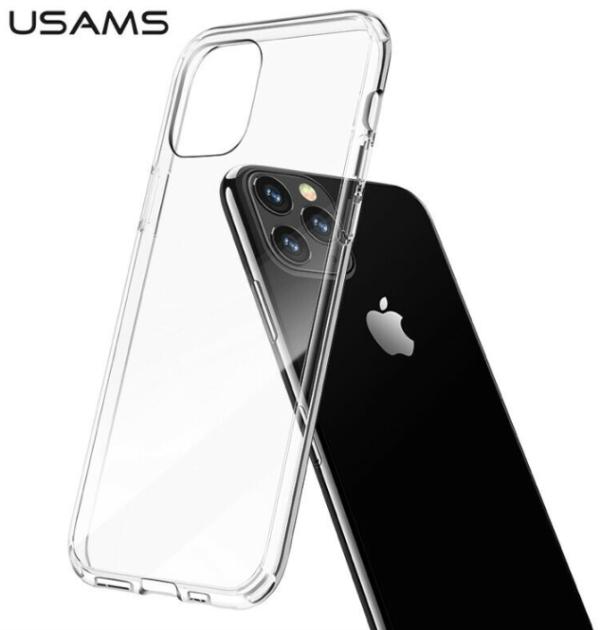 Чехол iPhone 12/12 Pro /6,1''/ Usams Simple Series /transparent/