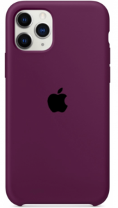 Чехол Apple iPhone 11 Pro Max Silicone Case (Lux copy) - Marsala