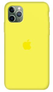 Чехол Apple iPhone 11 Pro Max Silicone Case (Lux copy) - Flash