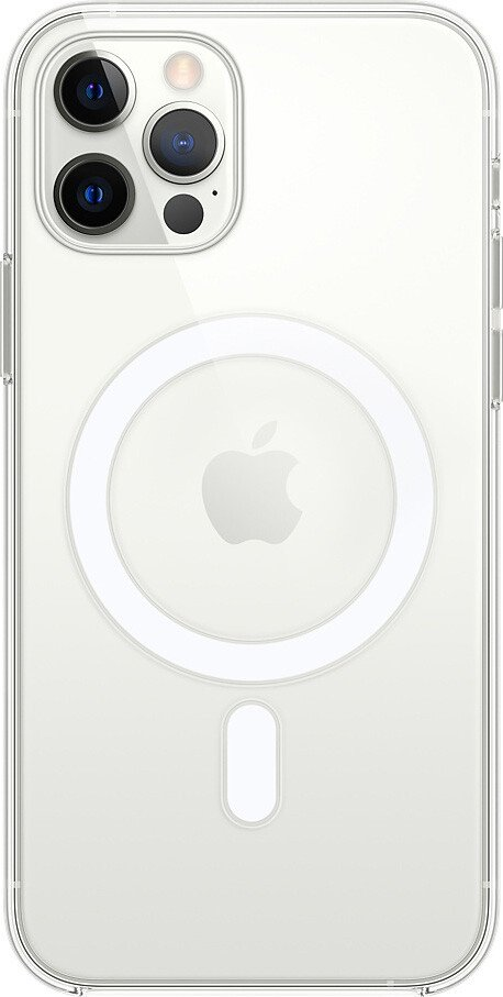 Чехол iPhone 12/12 Pro Clear Case with MagSafe