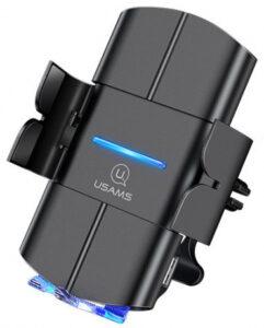 Автомобильный держатель с беспроводной зарядкой Usams CD133 10w