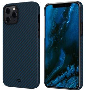 Карбоновый чехол-накладка Pitaka MagEZ Case для iPhone 12/12 Pro